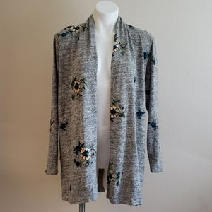 Fig & Flower Embroidered Cardigan NWT | S M or L